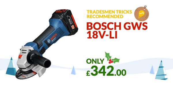 Bosch GWS 18v-Li Christmas Gift idea