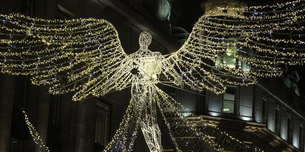 Christmas Light Angel