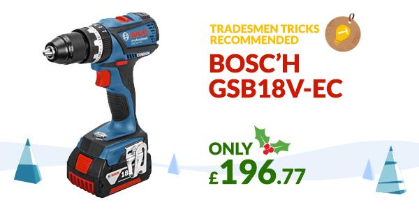 BOSCH GSB18V-EC Christmas Gift Idea