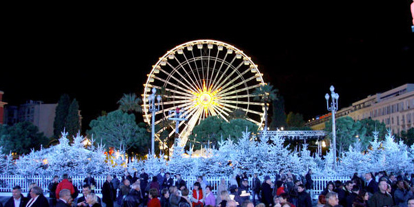 Promenade des Anglais Christmas Lights