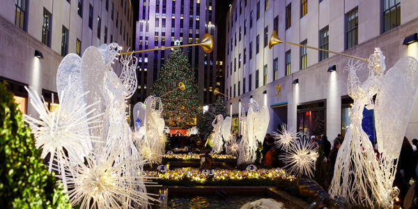 Rockefeller Center Christmas Lights
